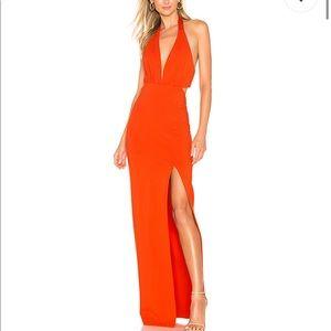 NBD Fenton Gown in Orange